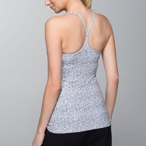 Lululemon Power Y Tank Top Floral Luon 4
